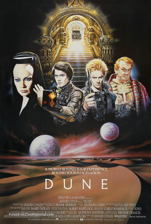 Dune - British Movie Poster