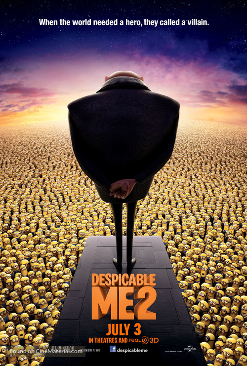 Despicable Me 2 - Movie Poster