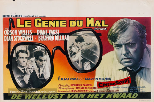 compulsion 1959 movie poster