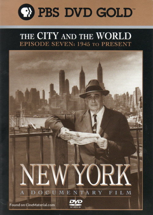 """New York: A Documentary Film"" - DVD cover"