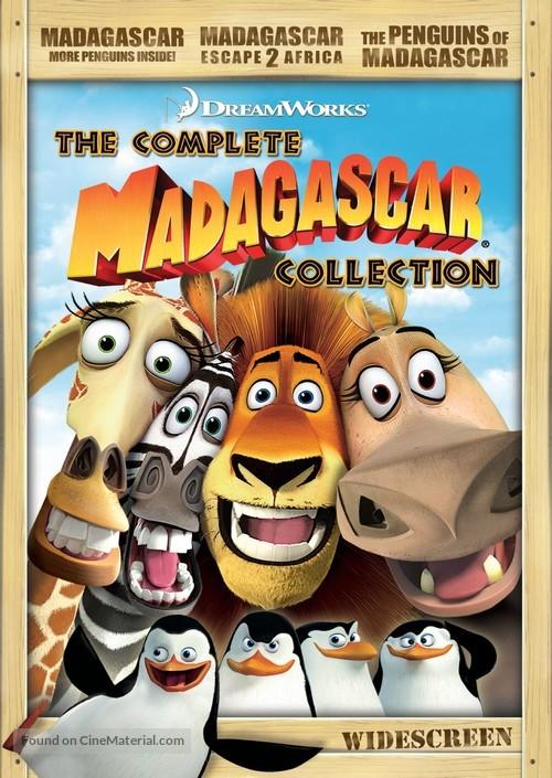 Madagascar - DVD movie cover