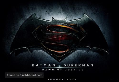 Batman v Superman: Dawn of Justice - Movie Poster