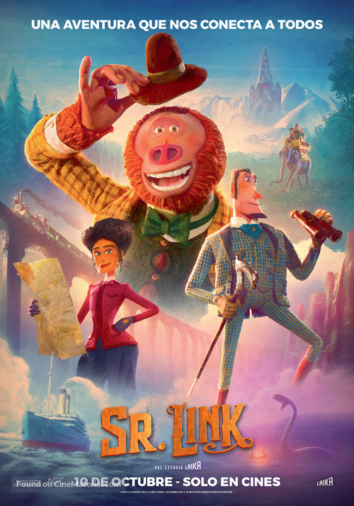 Missing Link - Argentinian Movie Poster