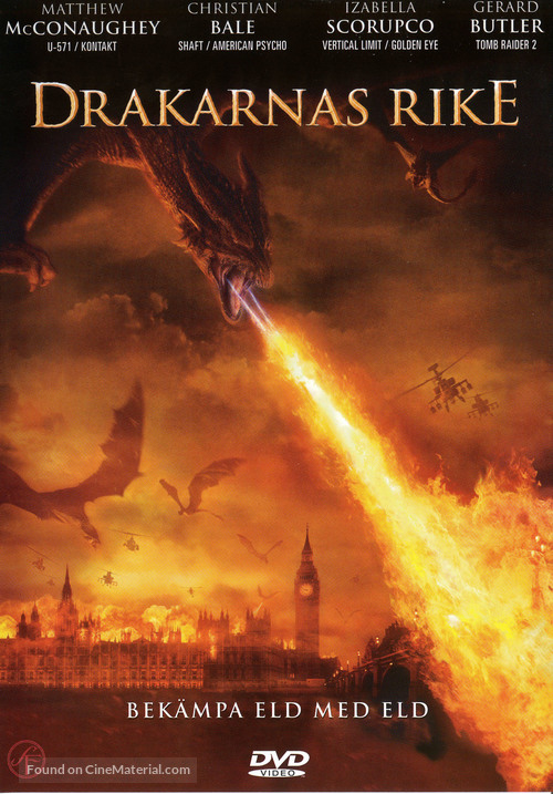 Reign of Fire - Swedish DVD cover