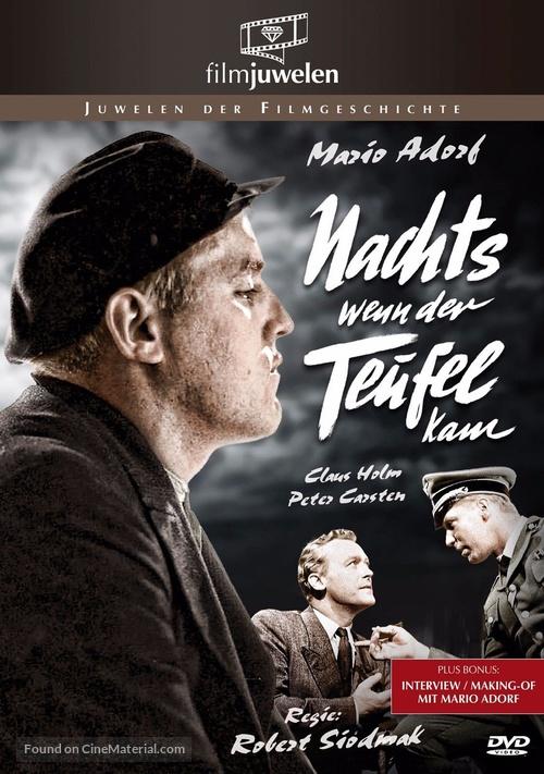 Nachts, wenn der Teufel kam - German DVD movie cover