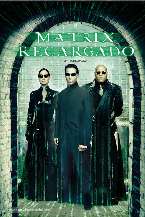 The Matrix Reloaded - Argentinian DVD movie cover