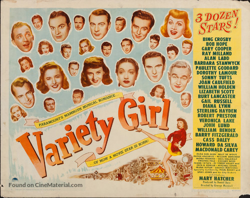 Variety Girl - Movie Poster