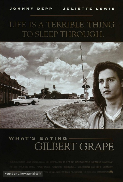 What's Eating Gilbert Grape - Movie Poster